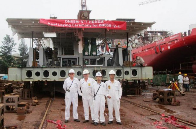 VOS Challenge -keel-laying-ceremony-664x438 vroon